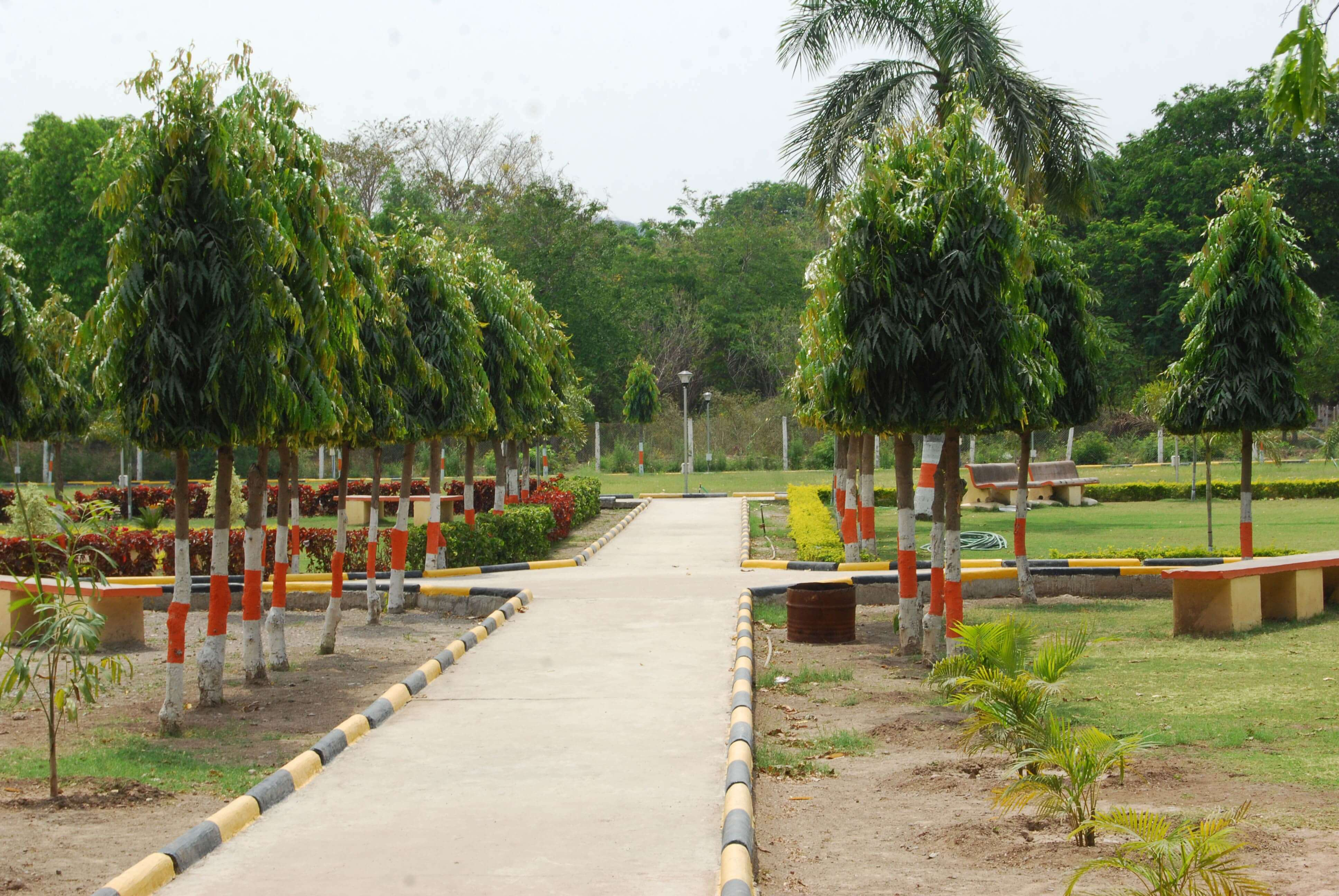 Children park at Devapur plant